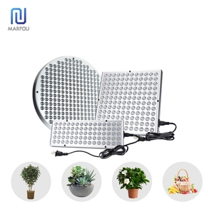 LED Grow Light Full Spectrum 25W 45W 50W AC85-265V Plants Growth Lighting UV IR Panel lamps For Greenhouse Indoor Grow Seeding
