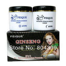 Ginseng whiteing cream anti freckle skin care 20g+20g