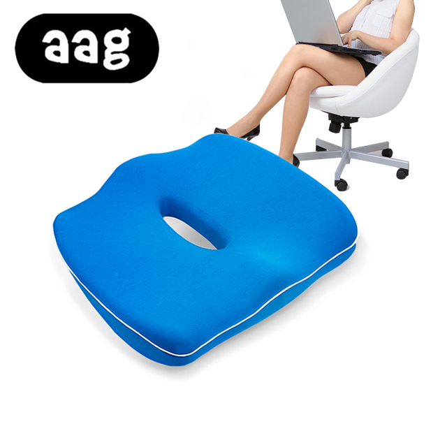 office chair ergonomic cushion futon chairs target aag modern cotton gemini seat ortopedic memory foam car massage hemorrhoid