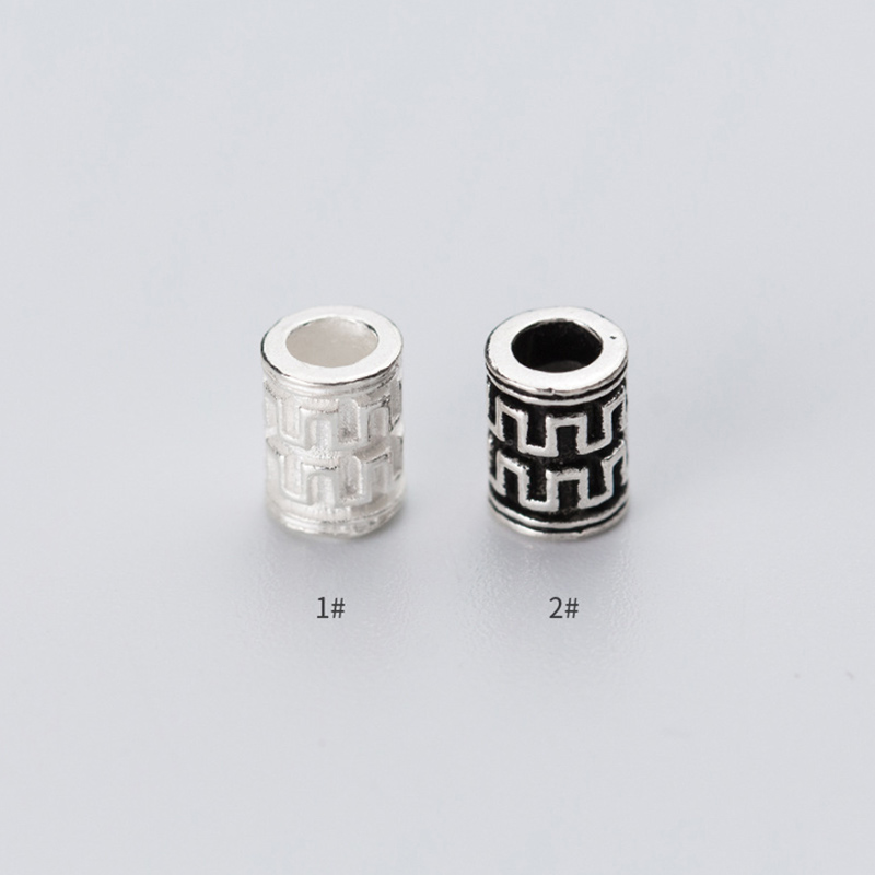 25 Sterling Silver 925 6mm TUBE SPACERS NEW!