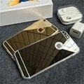 """Simples espelho tampa do telefone para iPhone 6 TPU macio 6 s plus casos de telefone 4.7 """" 5.5 """" polegadas ouro prata cinza rosa ouro atacado"""