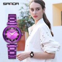 Relogio Feminino 2019 Watches Women Simple Quartz Round Wrist Watch Stainless Steel Waterproof Female Clock Femme Wristwatch
