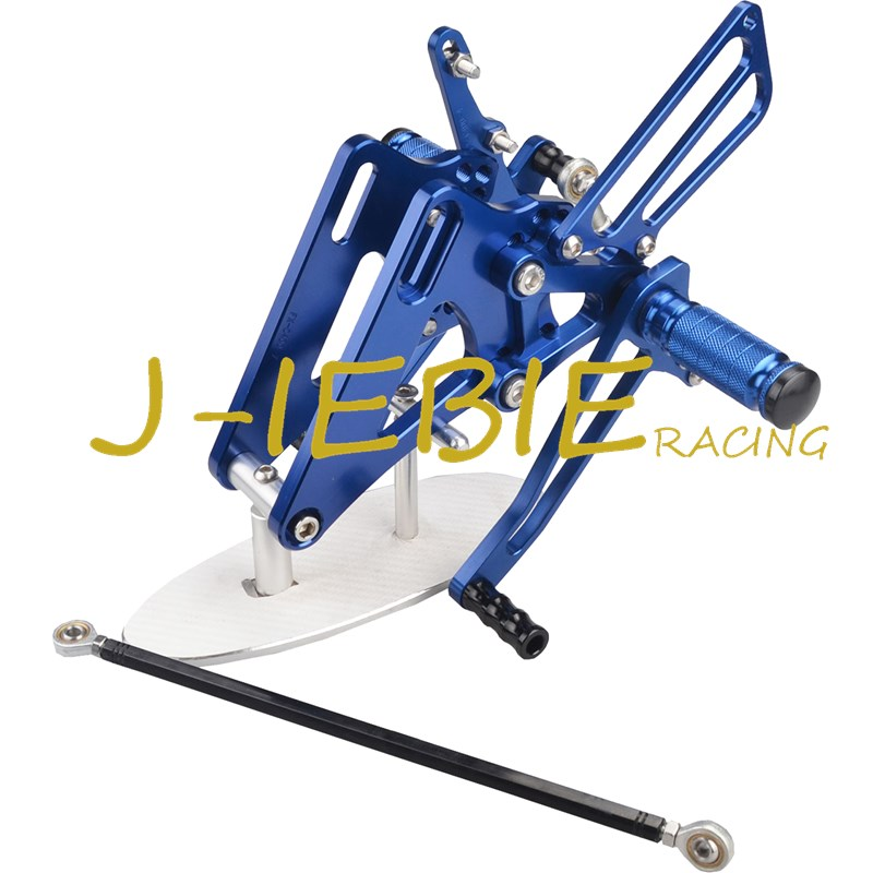 CNC Racing Rearset Adjustable Rear Sets Foot pegs Fit For Honda CB400 VTEC1 VTEC2 VTEC3 VTEC4 1999-2008 BLUE kingsun rear adjustable ball joint camber control suspension arm kit for 1990 1997 honda accord acura cl tl1996 1999 blue