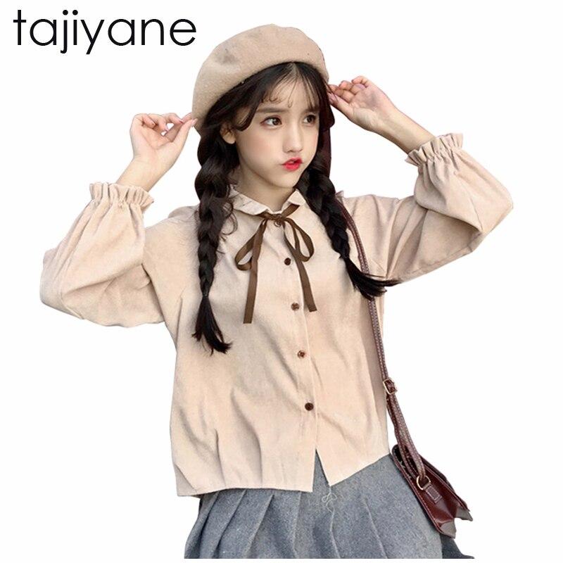 TAJIYANE White Red Women Sweet Blouses 2018 Spring Long Sleeve Blouse Shirt Women Onesize Blusas Feminina New Arrivel On LD245