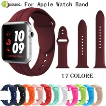 sports Silicone Strap for apple watch band Series 1/2/3 42mm 38mm Watch band for iWatch 4 40mm 44mm smartWrist band hot Bracelet джексон мэкэй big bull band дин коллинс пол деликато rodeo hits hot songs for hot rides volume 2