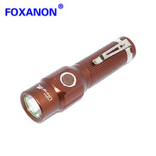 Foxanon Brand 9W 990LM LED 3 Modes Torch Flash licht Waterdicht Ultrafile Samsung Chip Led Zaklamp lampen Meer Heldere dan T6(China)