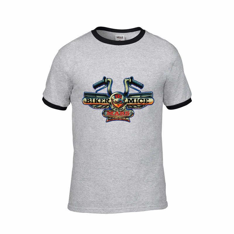 Получите вашу езду на смешные мужские футболки горные велосипеды футболка Велоспорт MTB 2019 летние байкерские мыши с Марса досуг футболки