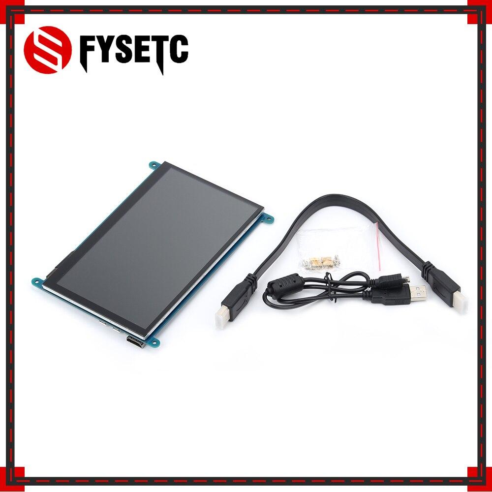Raspberry Pi 3 B + 7 pouces écran tactile 1024*600 écran tactile capacitif LCD HDMI Interface TFT affichage + USB + CD pour Raspberry Pi