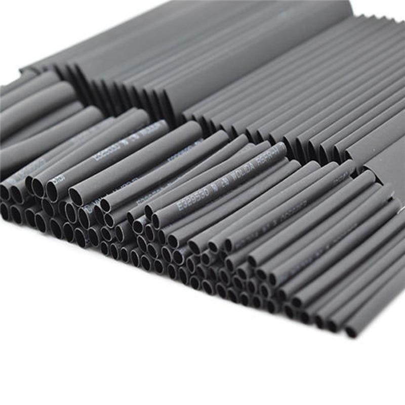 new hot 127 pcs 7 28m black 2 1 assortment heat shrink tubing tube rh aliexpress com automotive wiring shrink wrap wiring harness shrink wrap