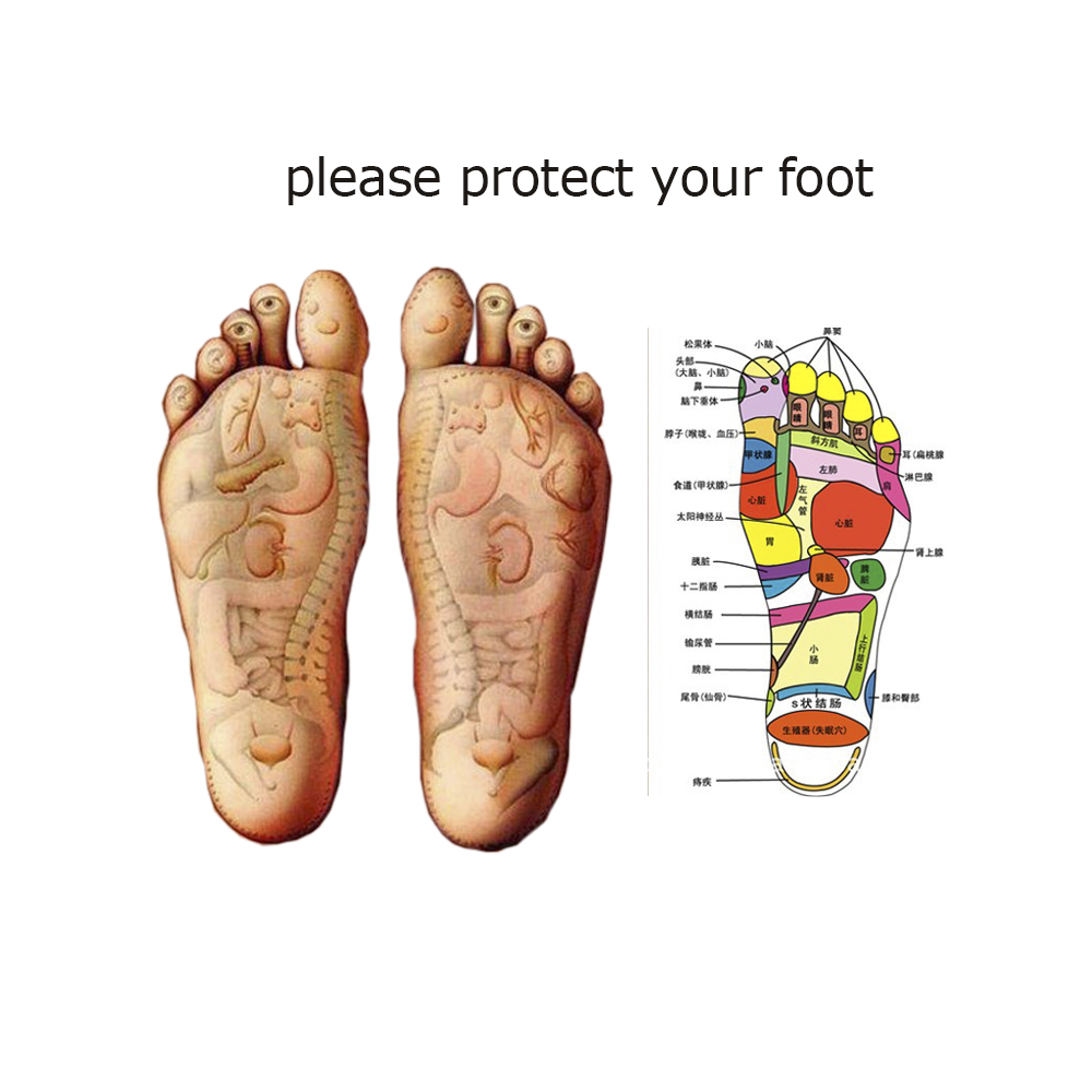1Pair Adult Flat Foot Arch Support Orthotics Orthopedic Insoles Foot ...