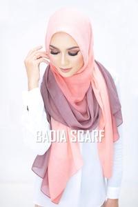 Image 4 - Een Stuk Vrouwen Ombre Hijab Sjaal Mode Moslim Hijaabs Viscose Katoen Islam Hoofd Wraps Vrouwen Foulard Maxi Sjaal Sjaals