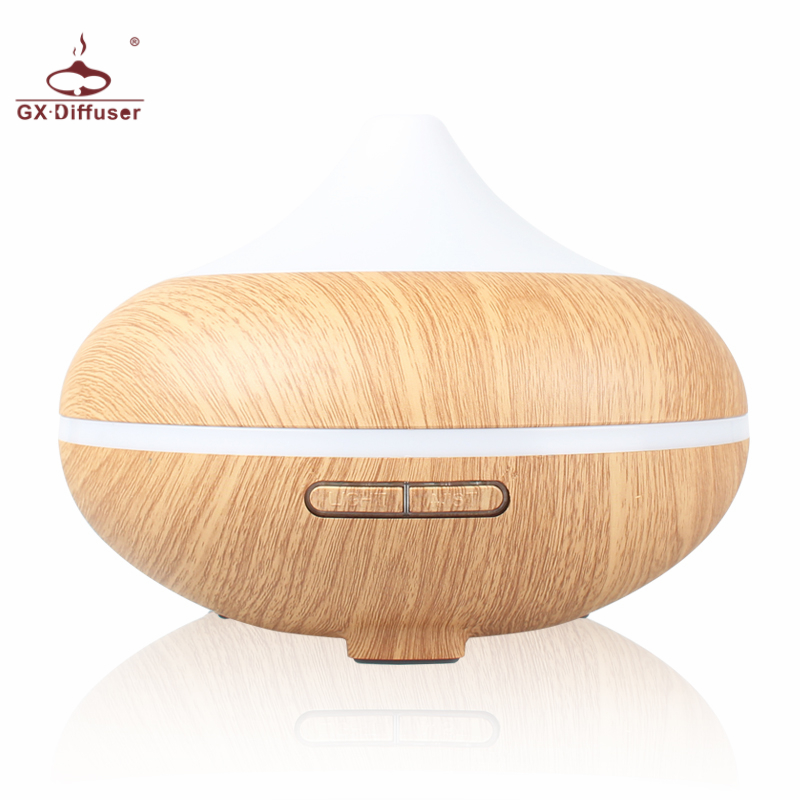 GX.Diffuser 500ml Essential Oil Diffuser Aromatherapy Electric Aroma Diffuser Ultrasonic Air Humidifier Home Mist Maker Purifier 500ml usb air humidifier essential oil diffuser mist maker fogger mute aroma atomizer air purifier night light for home