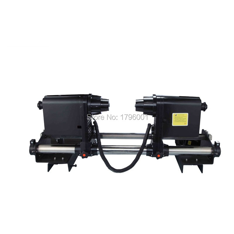 Good quality Paper Take Up System paper roller for Mutoh VJ1604 VJ1618 VJ1628 VJ1638 printer good quality strong power double motor printer paper take up roller system for roland printer