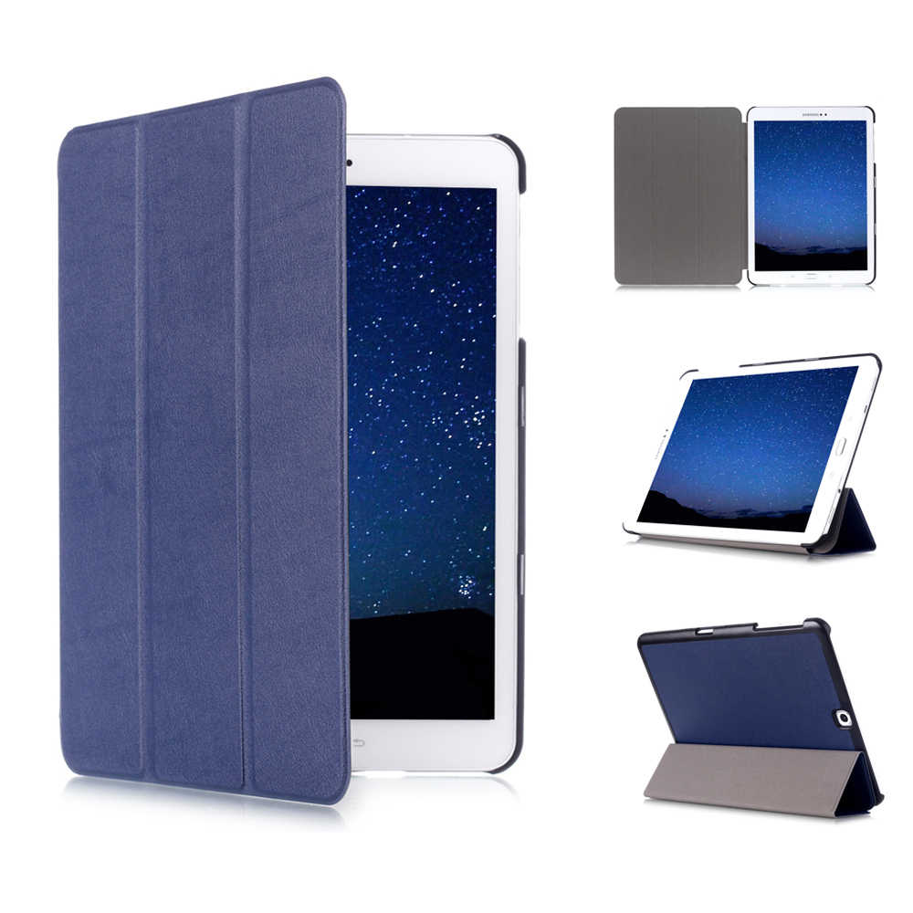 Slim Case voor Samsung Galaxy Tab S2 9.7 SM-T810/T815 Tablet PU Leather Folding Stand Cover voor Samsung Galaxy tab S2 9.7 Tablet