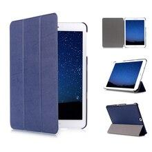 Тонкий чехол для Samsung Galaxy Tab S2 9,7 SM-T810/T815 планшеты из искусственной кожи складной чехол-подставка для Samsung Galaxy Tab S2 9,7 планшет