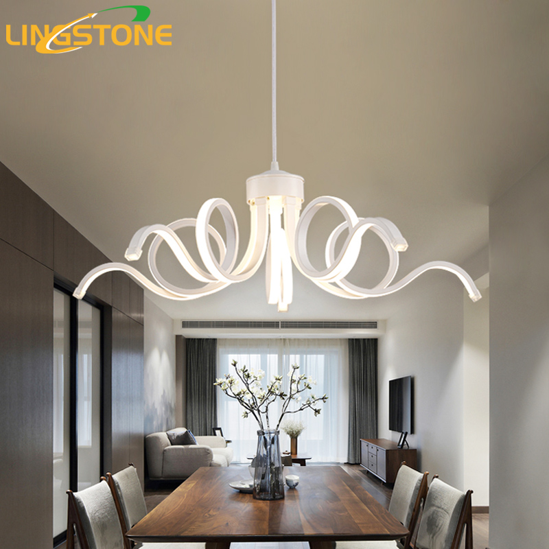 Modern Led Pendant Light for Kitchen Dining Room Pendant Lamp Bedroom White Hanging Lamp Indoor Lighting Design Light Fixtures графин 500 мл bohemia графин 500 мл
