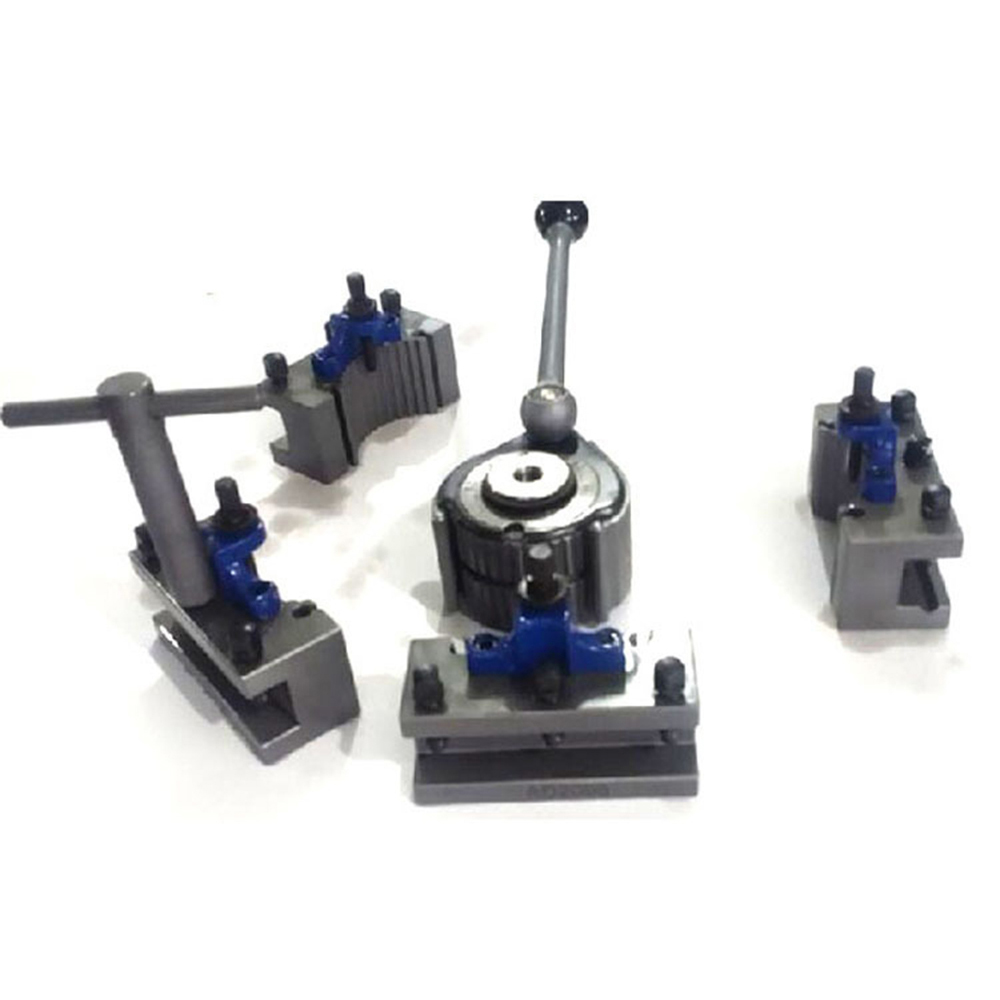 40-position Quick Change Tool Post Swing 150-300mm Lathe Tool Post Set Of 5pcs(EU Type)