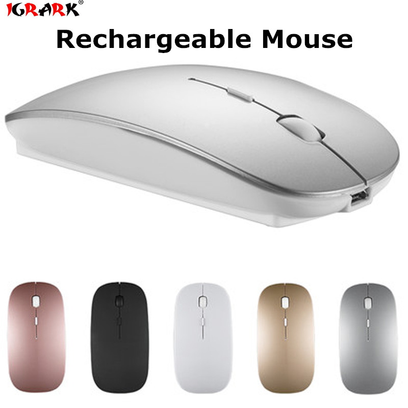 Wireless Bluetooth 4.0 Mouse For Microsoft Surface Pro 3 Pro 4 Rechargeable Mice Optical 1600 DPI Bluetooth 4.0 Silent Mouse