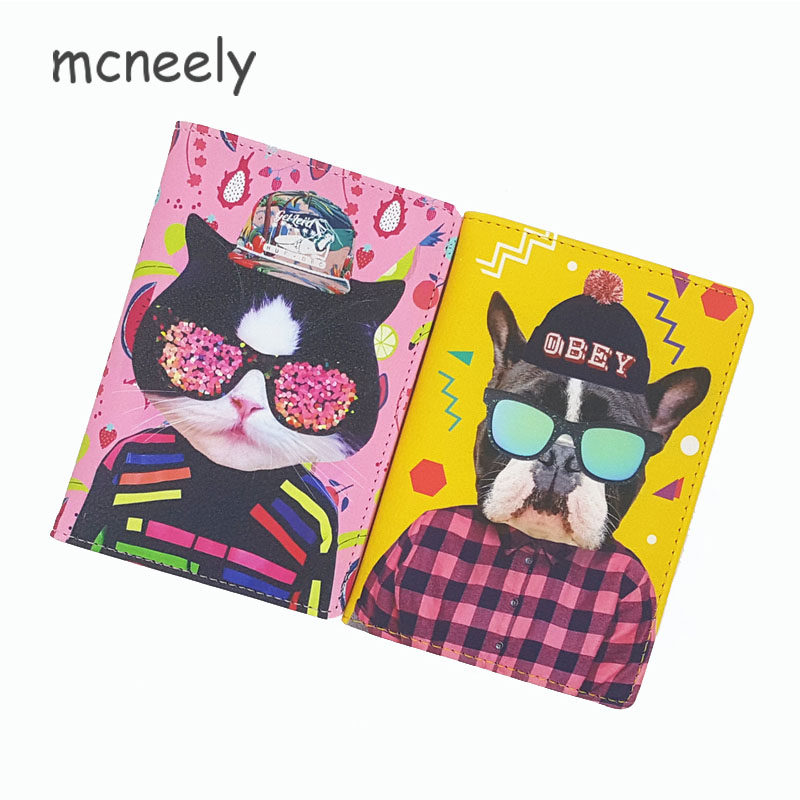 PU Leather travel passport Cover,Funny animal makeup passport holder ,Can accommodate tickets cards money 4 kinds for choosePU Leather travel passport Cover,Funny animal makeup passport holder ,Can accommodate tickets cards money 4 kinds for choose