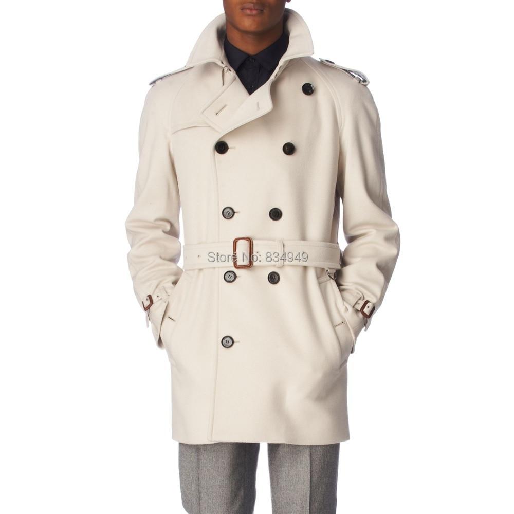 Manteau Long Homme Blanc Long Manteau xedCBo