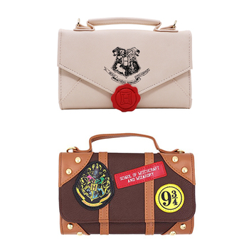 0c4f16666 Harry Potter cartera carta cremallera en monedero largo de Harry Potter  bolso de las mujeres bolsa