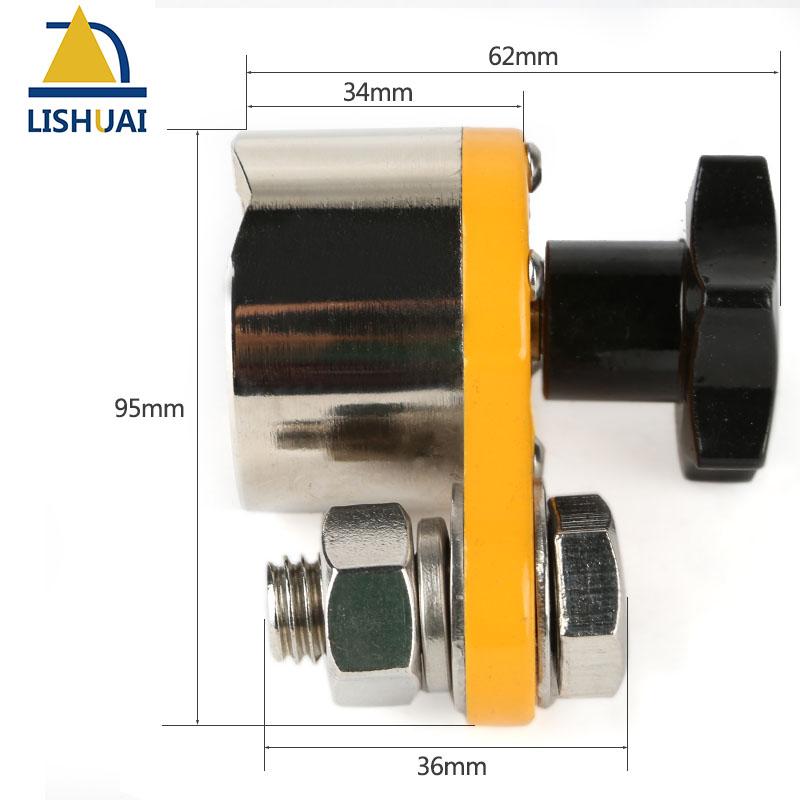Big Size Magnetic Welding Ground Clamp 600A