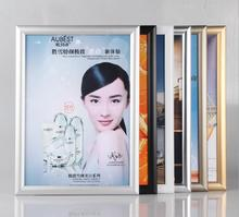 A4 size Aluminum alloy decorative Photo frame Advertising poster frame