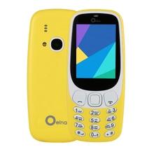 "Neue Original OEINA XP3310 Z3310 2,4 ""4SIM Telefon Quad-Band Vier Sim-karte 4 SIM Bluetooth MP3 MP4 FM Kamera Telefon"