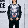 2016 Men/Women Harajuku Print Animal Leopard Tiger Pullover 3D Hoodies Funny Galaxy Space Sweatshirt Sudaderas Tops Clothes