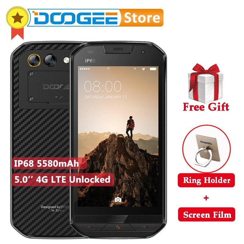 "IP68 Waterdichte DOOGEE S30 5.0 ""HD 5580 mAh 4G Smartphone Android 7.0 MTK6737 Quad Core 2 GB RAM 16 GB ROM 3 Camera Mobiel-in Mobiele Telefoons van Mobiele telefoons & telecommunicatie op AliExpress - 11.11_Dubbel 11Vrijgezellendag 1"