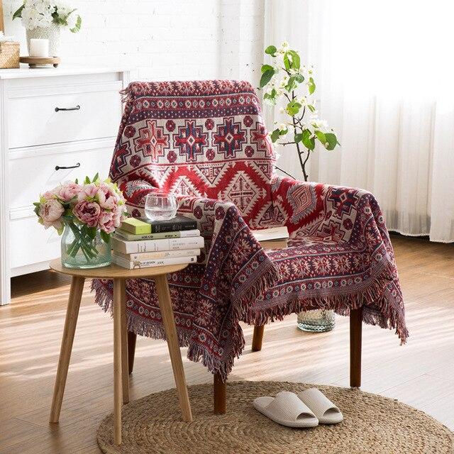 ESSIE HAUSE Sofa Decke Kelim Teppich Für Sofa Wohnzimmer ...