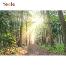 цены на Yeele Landscape Wallpaper Sunshine Forest Green Photography Backdrops Personalized Photographic Backgrounds For Photo Studio  в интернет-магазинах