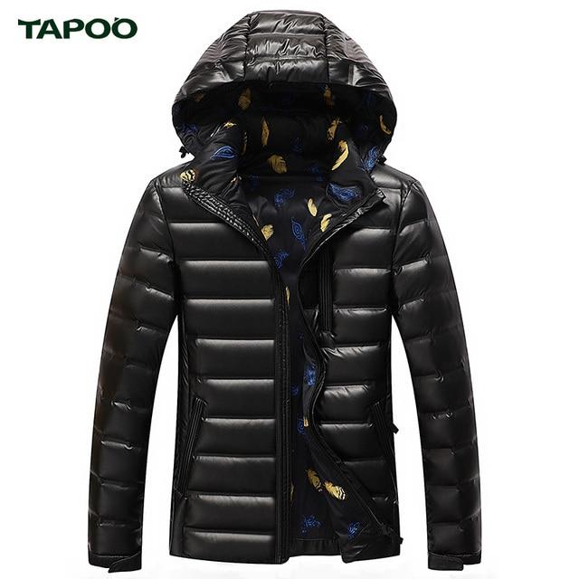 f8c0c19e3bf8 TABOO Winter Parka Duck Down Coats Men Warm Jackets Men s Coat England  Clothes Brand Fashion Clothing