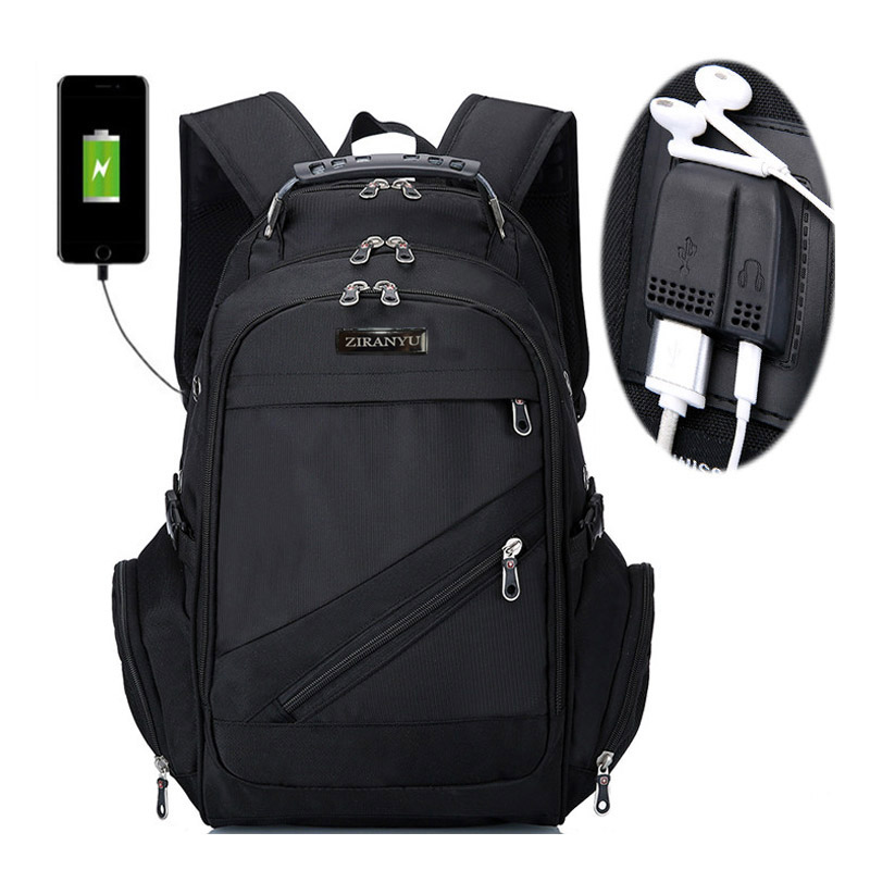 "Brand Swiss Laptop 15""backpack External Usb Charge Swiss Computer Backpacks Anti-theft Backpack Waterproof Bags For Men Women"