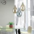 Скандинавский Лофт стеклянный подвесной светильник LED E27 домашний деко современный подвесной светильник для дома спальни гостиной рестора...