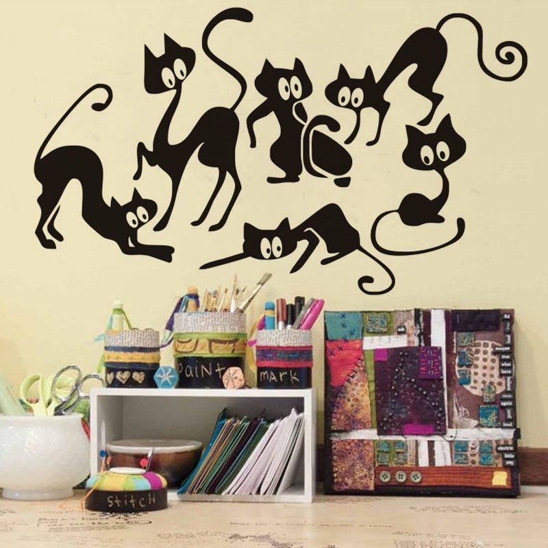 Compare Prices On Funny Cat Window Stickers And Decals Online - Custom vinyl wall decals cats