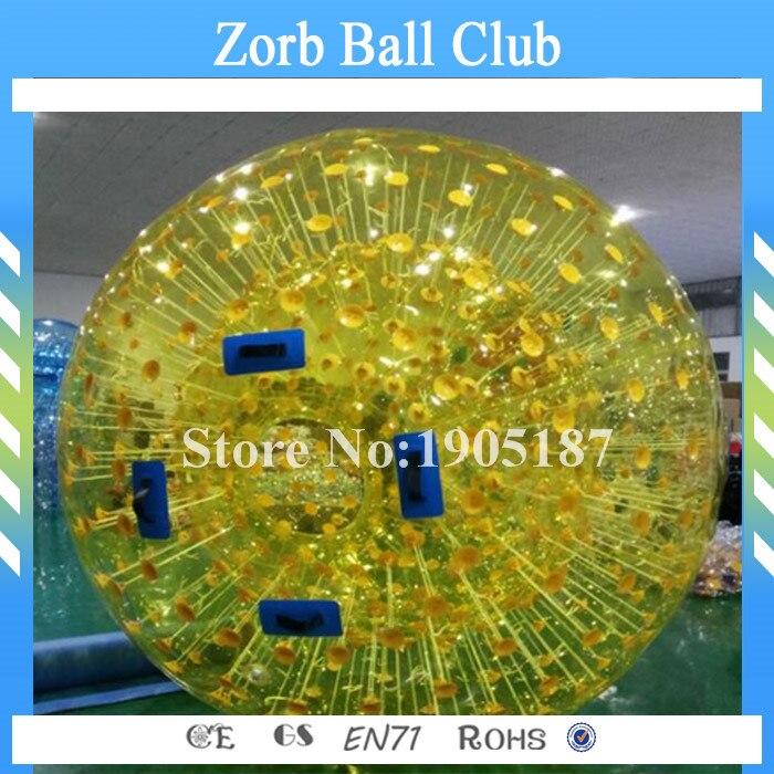 Envío libre 3 m diámetro inflable agua Andadores bolas Zorb Bola de agua Zorb inflable bola del Zorb aqua