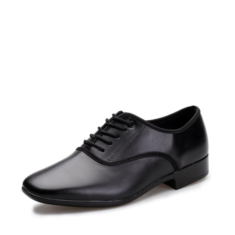 Men Modern Dance Shoes Sports Trot Leather Shoes Men Square Dance Waltz Male Shoes Tango Cosily Foxtrot Men Shoes Sneakers