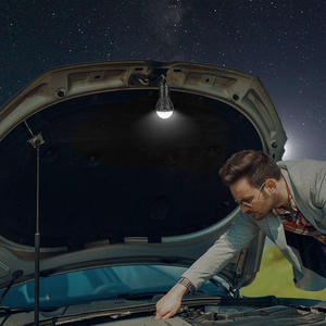 Image 4 - Miniluz de noche para exterior, 1 Uds., bombilla LED para tienda de acampar, impermeable, gancho colgante, lámpara de emergencia para acampar o lámpara de pesca, uso 3 * AAA