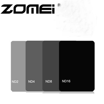 Zomei 100mm x 150mm ND2 ND4 ND8 ND16 Neutral Density 100*150mm Square Filter for Lee Cokin Z series фото