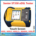 Senter ST330 VDSL Тестер LAN DMM Тест ADSL, ADSL2 +, READSL Метр с Сенсорным Экраном