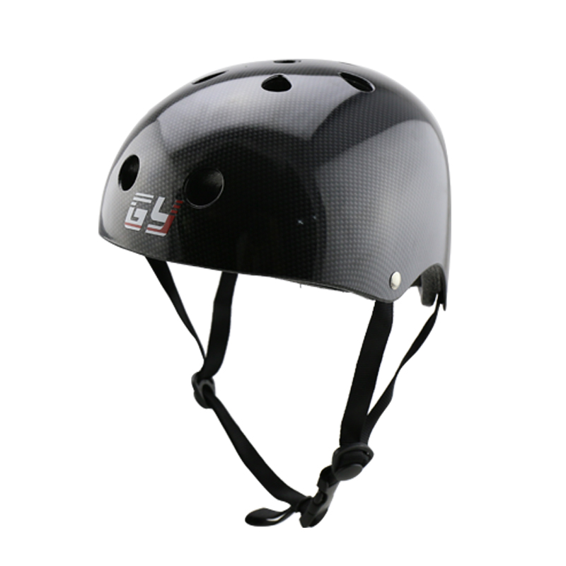 GY SPORTS  black roller skating helmet & bike cycling peotector lighting shell cheap price