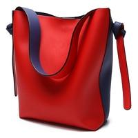 BVLRIGA Brand Luxury Handbags Women Bag Designer Women Leather Bag Female Shoulder Bag Women Messenger Bags Bucket Tote Big 2019