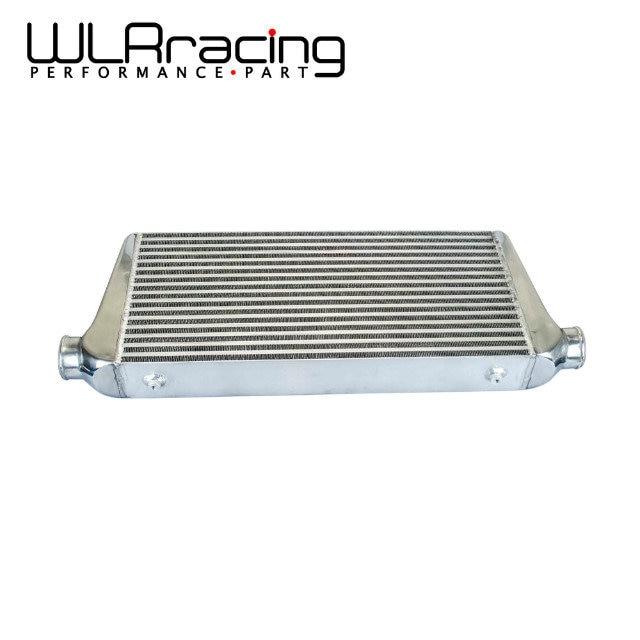 WLR RACING - 600*300*76mm Universal Turbo Intercooler bar&plate OD=3.0 Front Mount intercooler WLR-IN816-30 pivot 450x300x76 alloy turbo front mount intcooler bar
