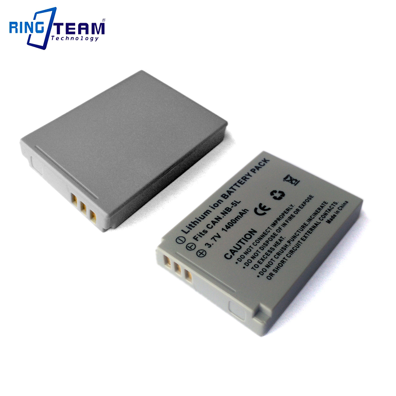 2pcs/lot Digital Battery Nb5l Nb-5l For Canon Powershot Cameras Sd970 Sd990 Sx200 Sx210 Sx230 S100 910 900 820 810 Is Elph Ixy Be Novel In Design