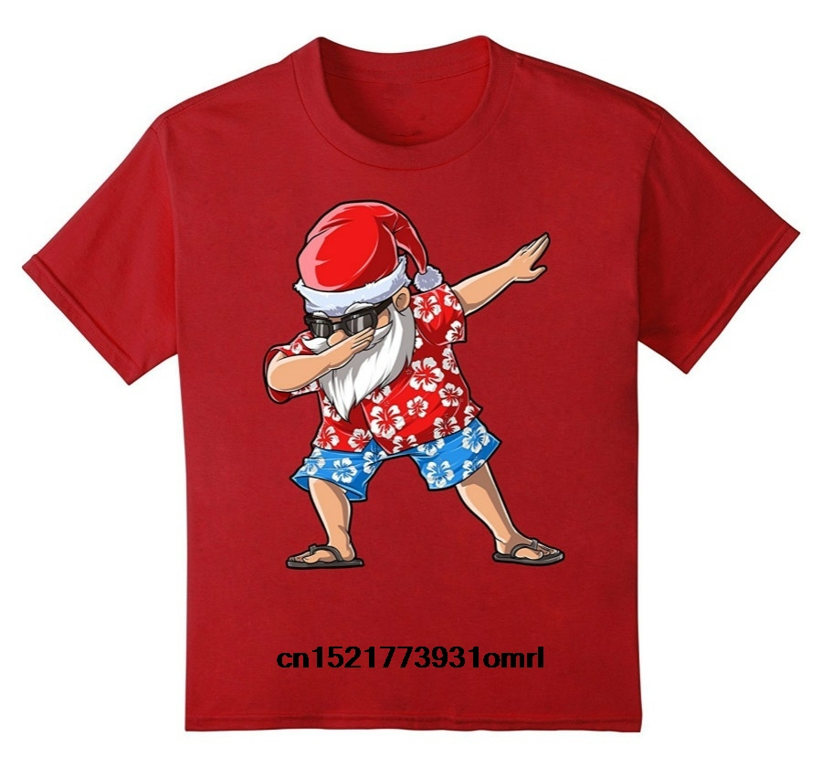 Christmas Hawaiian Shirt Womens.Men T Shirt Dabbing Santa Hawaiian Claus Christmas Dab Xmas