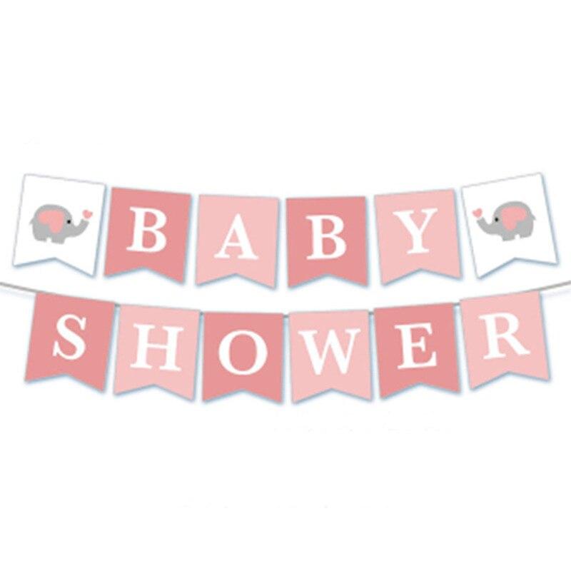 1 set Ipopu olifant Baby Shower Jongen Meisje Het een Jongen Het een Meisje Geslacht Onthullen Kids Verjaardag baby Shower feestartikelen 4