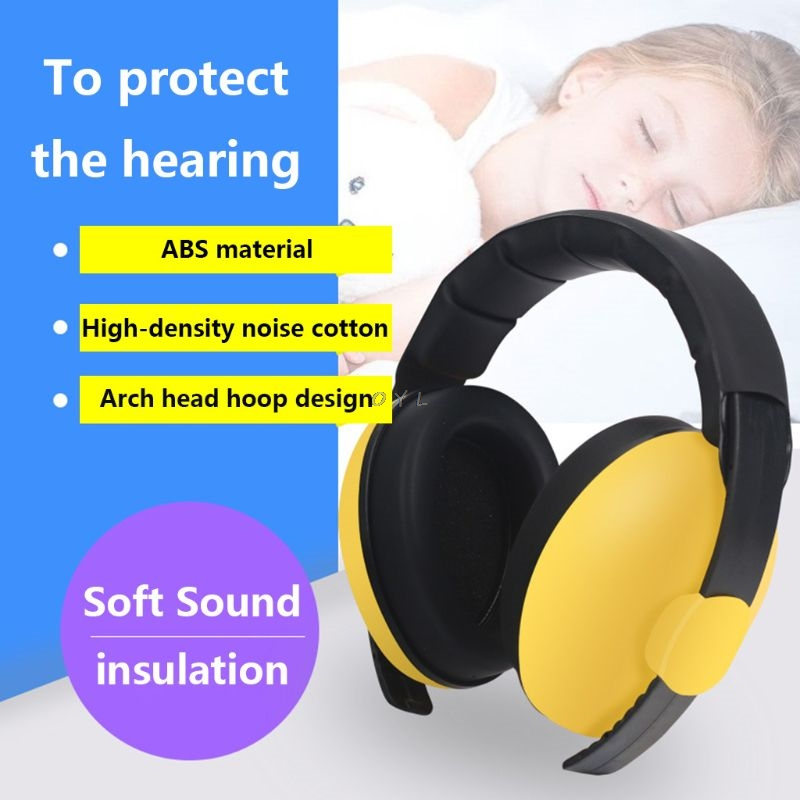 3 M-5 Y Child Baby Hearing Protection Safety Earmuffs Noise Reduction Ear Protector Learn And Sleep Noise Reduction Headphones Ear Protector Workplace Safety Supplies