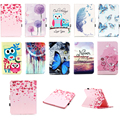 For Apple iPad 4 iPad 3 iPad 2 Elephone butterfly Paint Flip PU Leather Stand Case Cover For Ipad 4 3 2 tablet wallet cases
