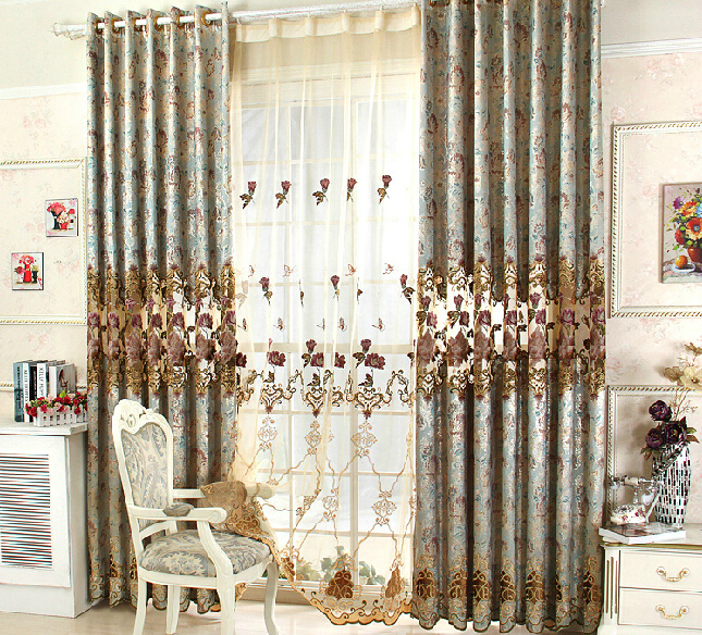 Buy Luxury Curtains For Living Room